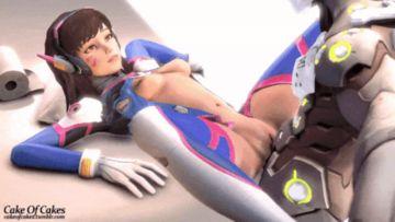 Overwatch Hentai Porn GIF