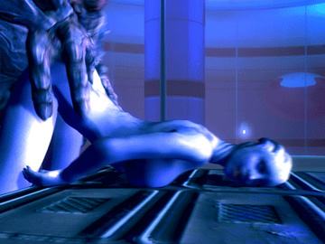 Liara T'soni gets hard fucked from behind by someone very big!