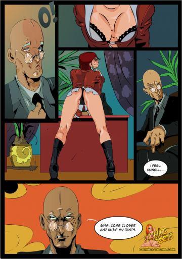 Порно комиксы x люди