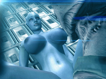 Liara has bigger boobs now so she gets fucked more often and more hard