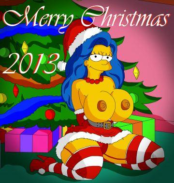 Marge Simpson gangbang