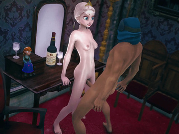 Elsa likes to get banged hard sometimes