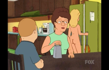 King Of The Hill Hentai Porn GIF