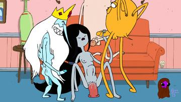 Adventure Time Hentai Porn GIF