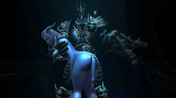 Lich King want fuck busty Draenei right now