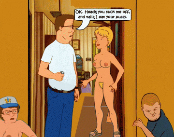 Luanne Platter and Hank Hill are about to make some oral fuckfest agreement...