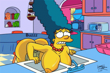 And today Marge Simpson got truly wild in the kitchen!