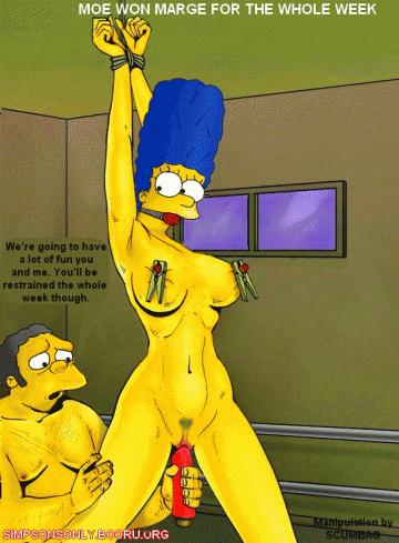 Simpsons Hentai Porn GIF