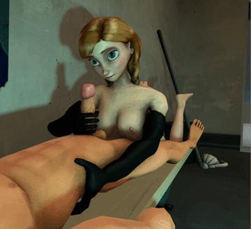 Frozen Hentai Porn GIF