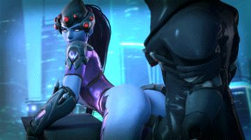 Widowmaker likes it the rough way!