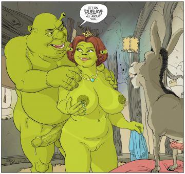 Fiona porn Princess shrek