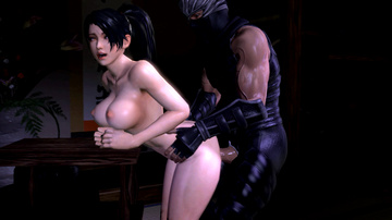 Momiji loves to be fucked by ninjas all night long!
