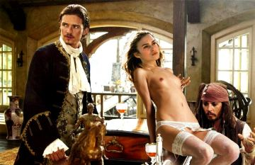 Peeing pirates of the caribbean porn version nude