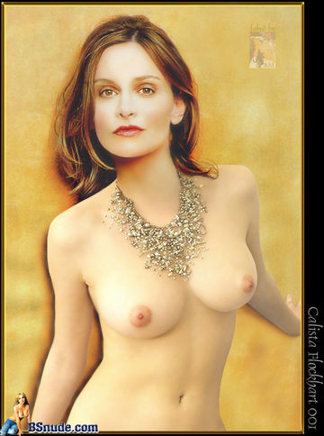 Calista Flockhart Showing Her Pussy And Tits And Fucking Hard