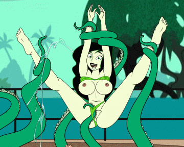 Shego meets one very horny octopus