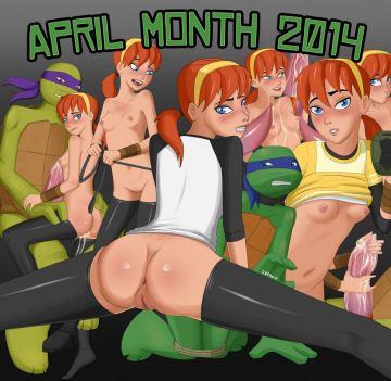 Порно комиксы с эйприл о нил