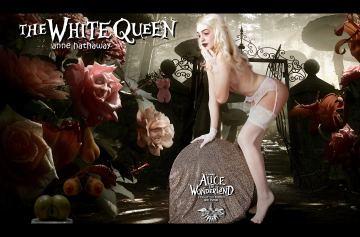 White Rabbit Queen of Hearts Alice