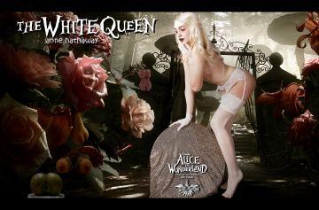 White Rabbit Queen of Hearts Alice