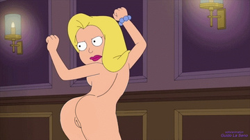Francine Smith enjoy nude dance