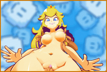 Check out sexy dancing Princess Peach!