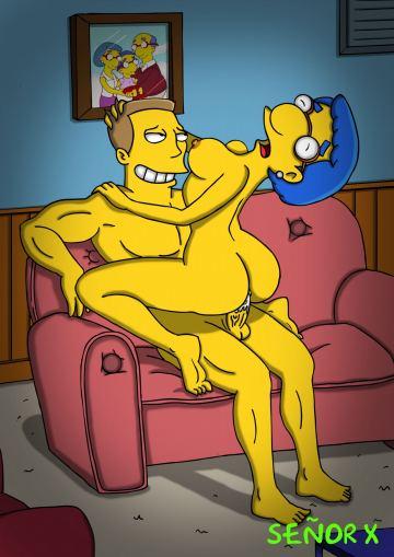 Смотреть порно фото симпсоны вк