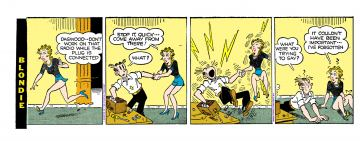 Blondie porn comics