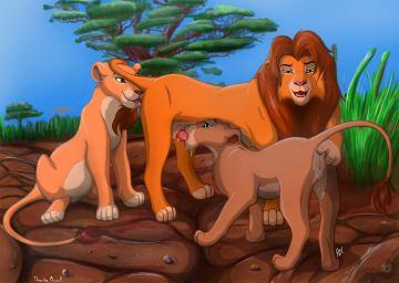 Lion king funny porn