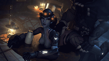 Watch Widowmaker getting fucked from behind