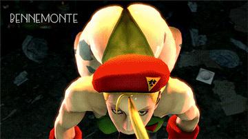 Street Fighter Hentai Porn GIF