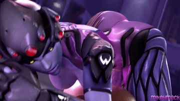 Sexy Widowmaker like rough sex