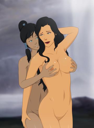 Butt ass naked women