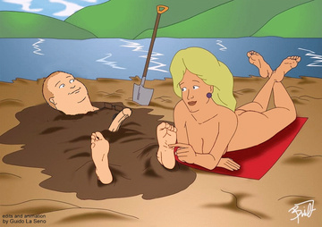 Luanne Platter want some fun with Bobby Hill