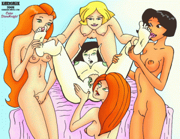 Totally Spies Hentai Porn GIF