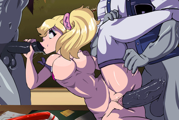 Lollipop Chainsaw Hentai Porn GIF