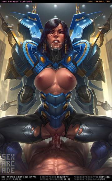Mercy Symmetra Pharah Mei Widowmaker
