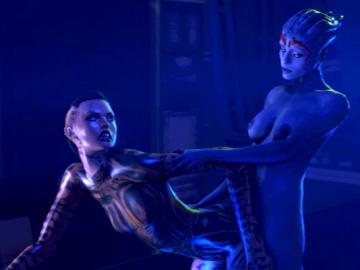 1248297 - Asari Jack Mass_Effect Mass_Effect_3 Samara animated cygnus source_filmmaker.gif