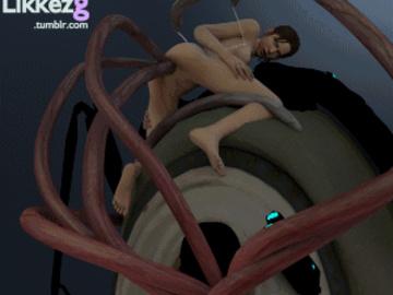 Zoey 1662309 - Half-Life Half-Life_2 Left_4_Dead Left_4_Dead_2 Zoey advisor animated likkezg.gif