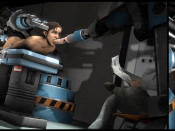 1161755 - Left_4_Dead Moneyshot Zoey animated source_filmmaker.gif