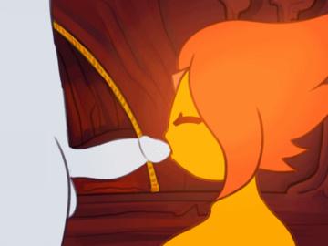 Flame Princess Guardian Angel 1518859 - Adventure_Time Flame_Princess animated somescrub.gif