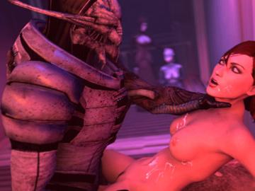 1302026 - Commander_Shepard FemShep Liara_T'Soni Mass_Effect Matriarch_Benezia Turian animated em805 saren_arterius source_filmmaker.gif