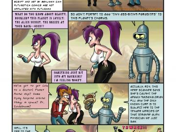 Leela From Futurama Naked