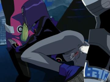Terra Blackfire Raven 1052544 - Beast_Boy Cyborg DC Raven Teen_Titans animated.gif