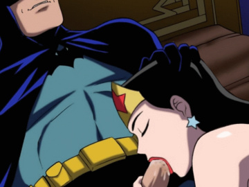 Batgirl Batman Wonder woman 502988 - Batman Batman_Family Bruce_Wayne DC DCAU Diana_Prince Wonder_Woman animated.gif