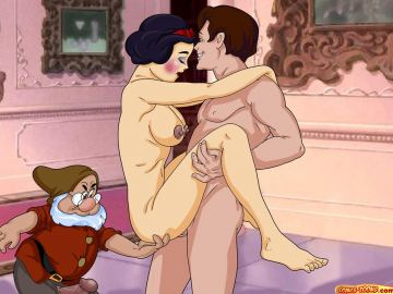 Cartoon Snow White Porn