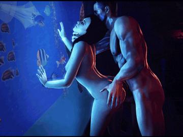 1407448 - Commander_Shepard Mass_Effect Miranda_Lawson SFMSnip animated source_filmmaker.gif