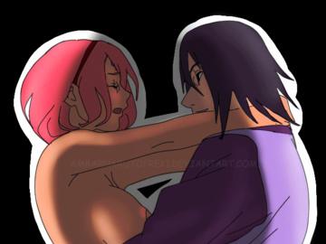 Sakura Sasuke Naruto Hinata 1724801 - Naruto Sakura_Haruno Sasuke_Uchiha animated.gif