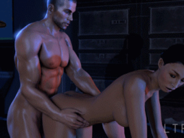 Ashley Williams 1457802 - Ashley_Williams Commander_Shepard Mass_Effect animated ltr300.gif