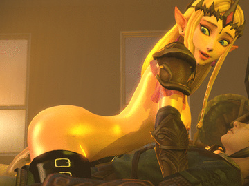 Link Malon 1721088 - Hyrule_Warriors Legend_of_Zelda Link Princess_Zelda animated source_filmmaker.gif