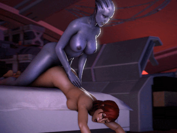 1063848 - Commander_Shepard FemShep Liara_T'Soni LordAardvark Mass_Effect animated.gif