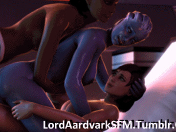 1186856 - Commander_Shepard FemShep Liara_T'Soni LordAardvark Mass_Effect Mass_Effect_3 Samantha_Traynor animated source_filmmaker.gif